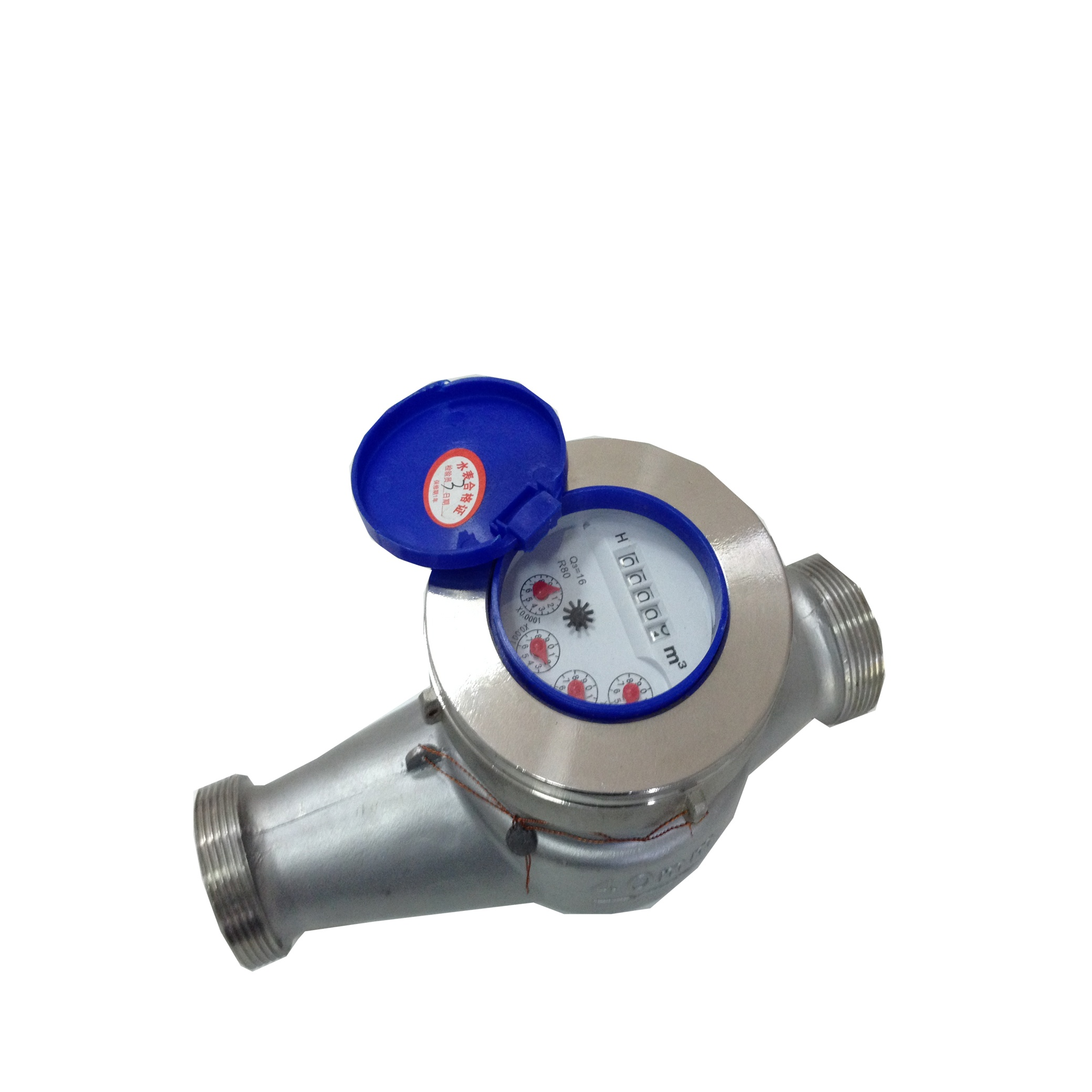 Stainless 304 Multi-jet Water Meter (Threaded End) / มิเตอร์น้ำสแตนเลส