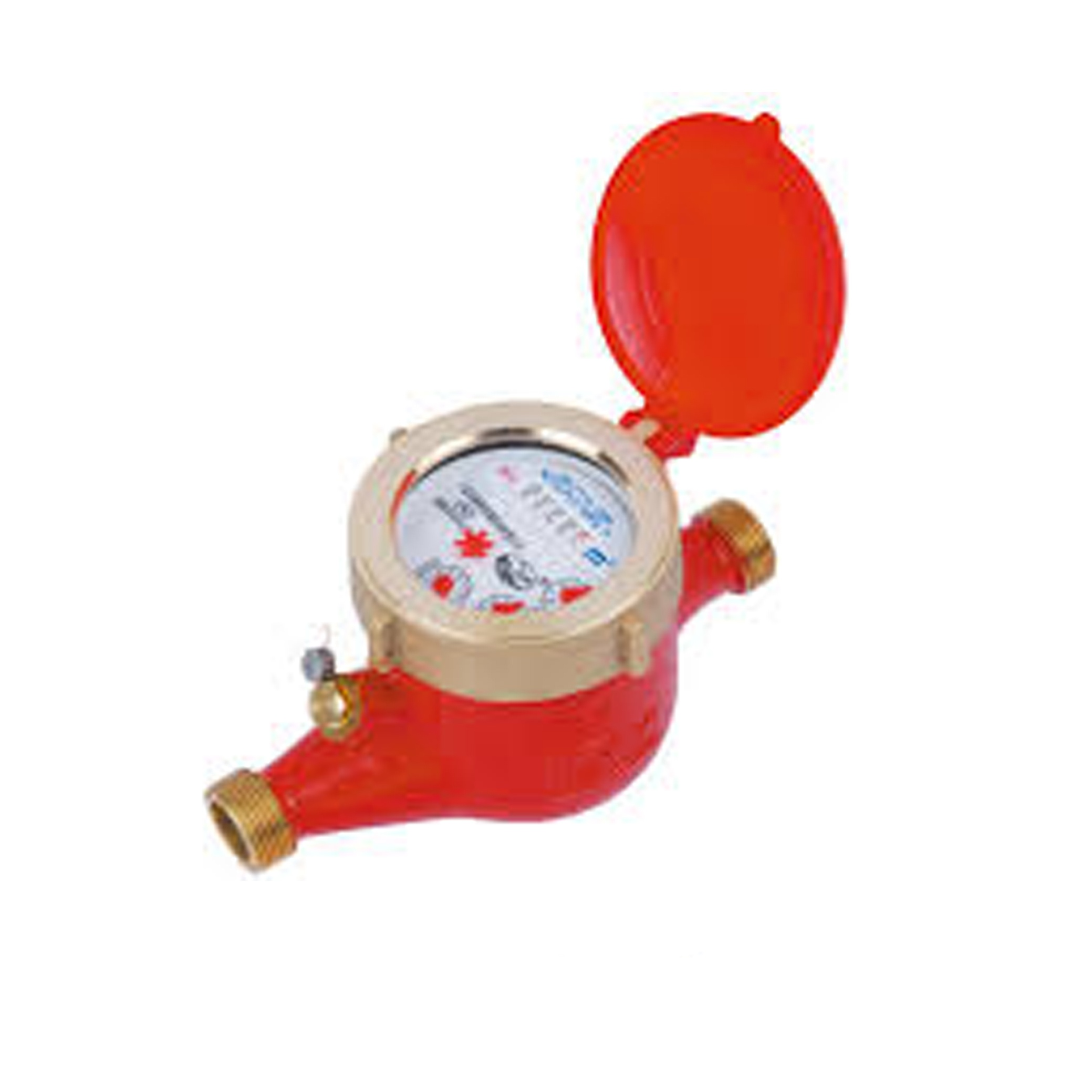 Multi-Jet Hot Water Meter (Threaded End)