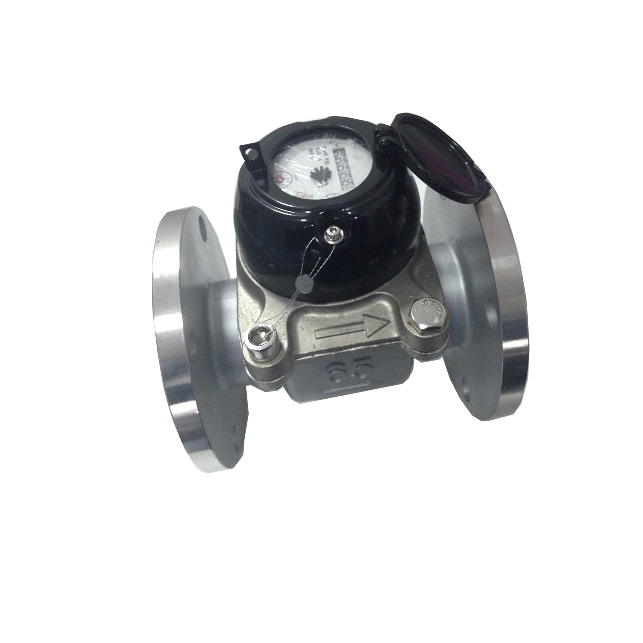 Woltman Stainless Water Meter  (Flange end) / มิเตอร์น้ำสแตนเลส