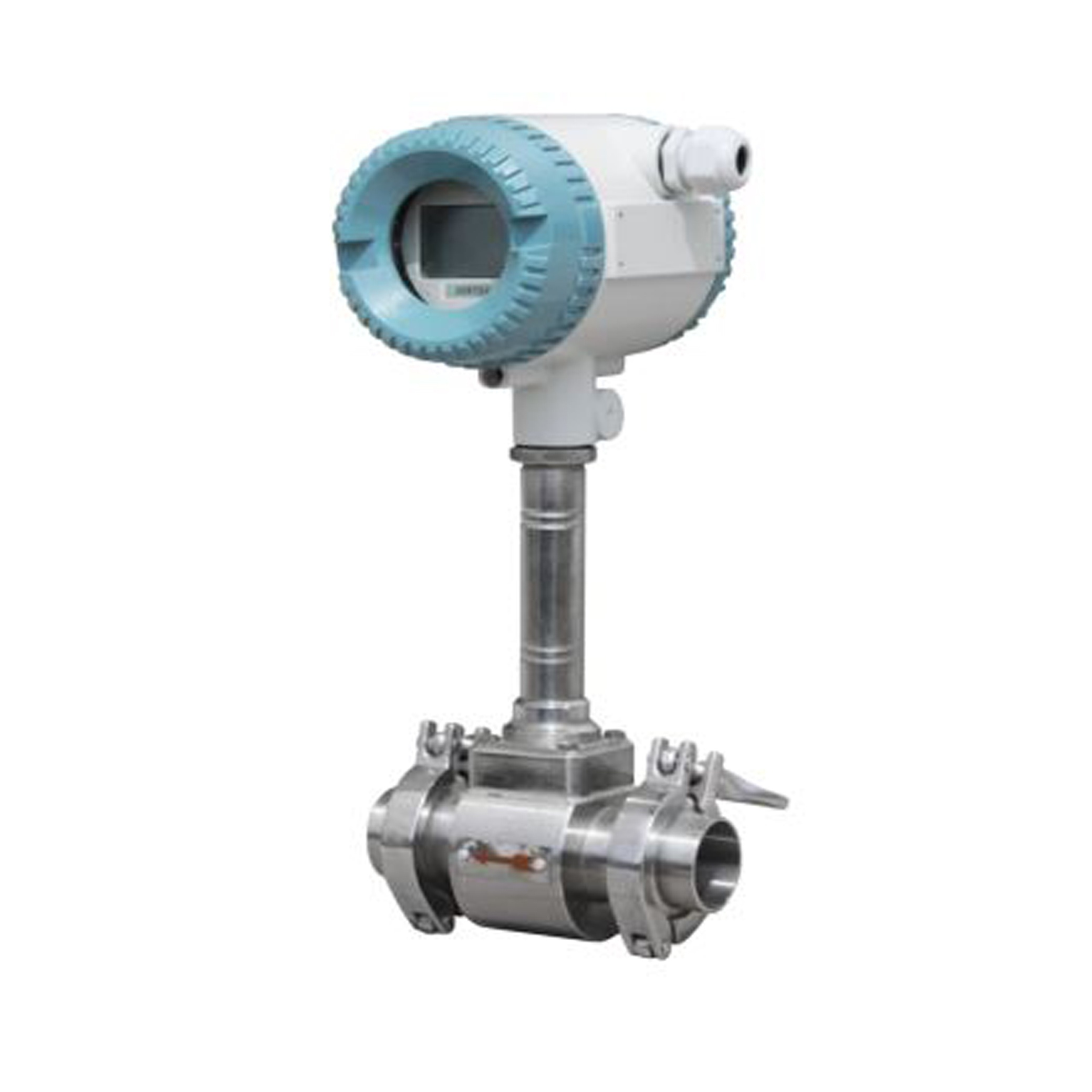 Sanitary ti-Clamp Vortex Flow Meter