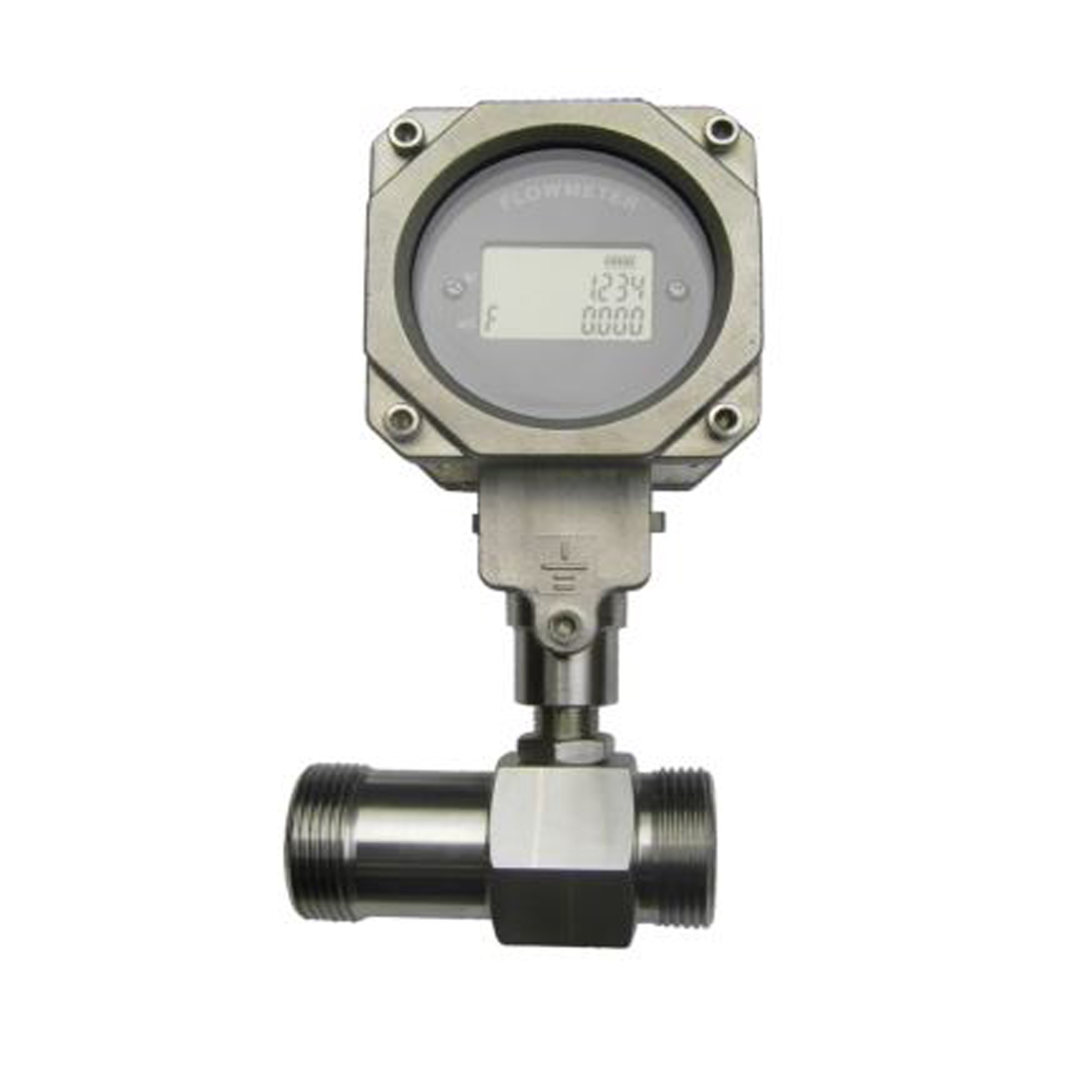 Threaded Turbine Flow Meter EX-Proof with LCD