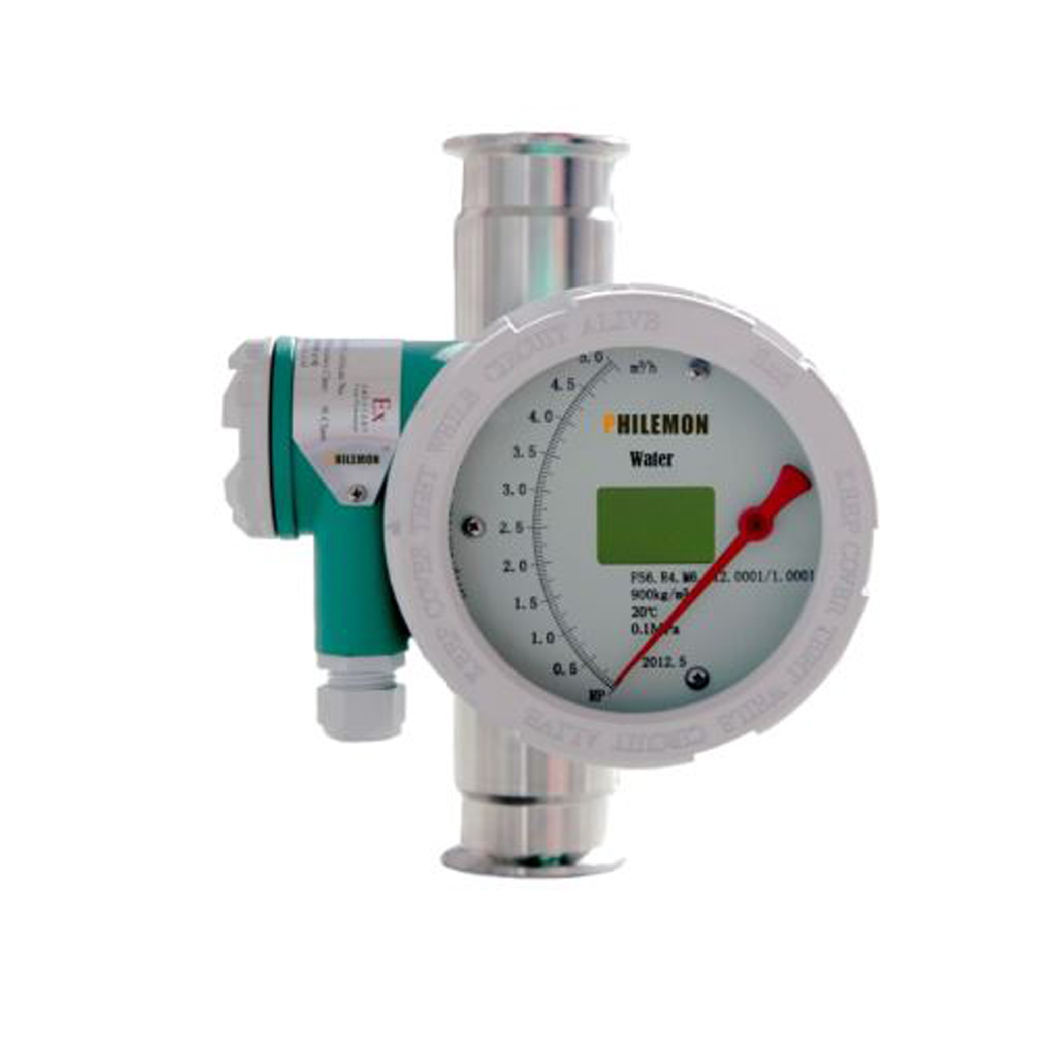 Tri Clamp Mechanical Flow Meter