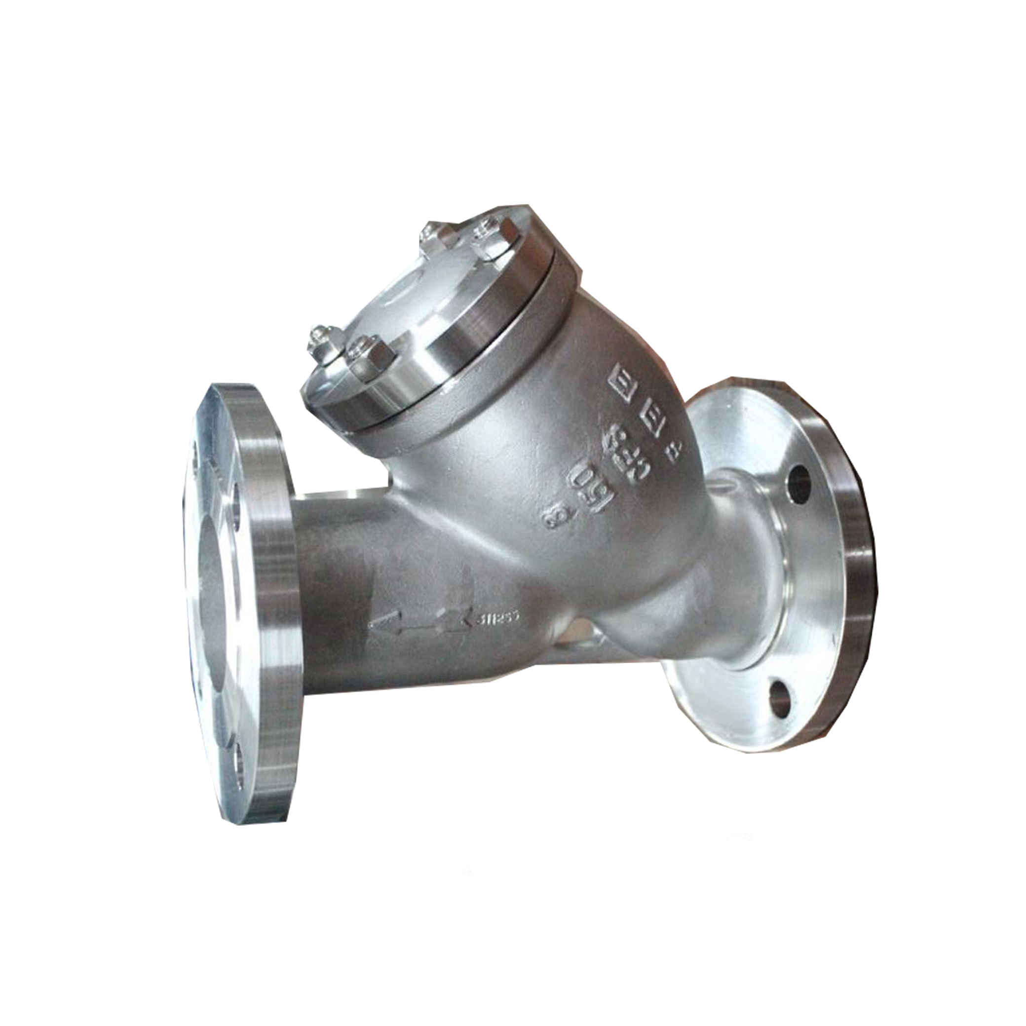 MZC Stainless Y-Strainer Flange End