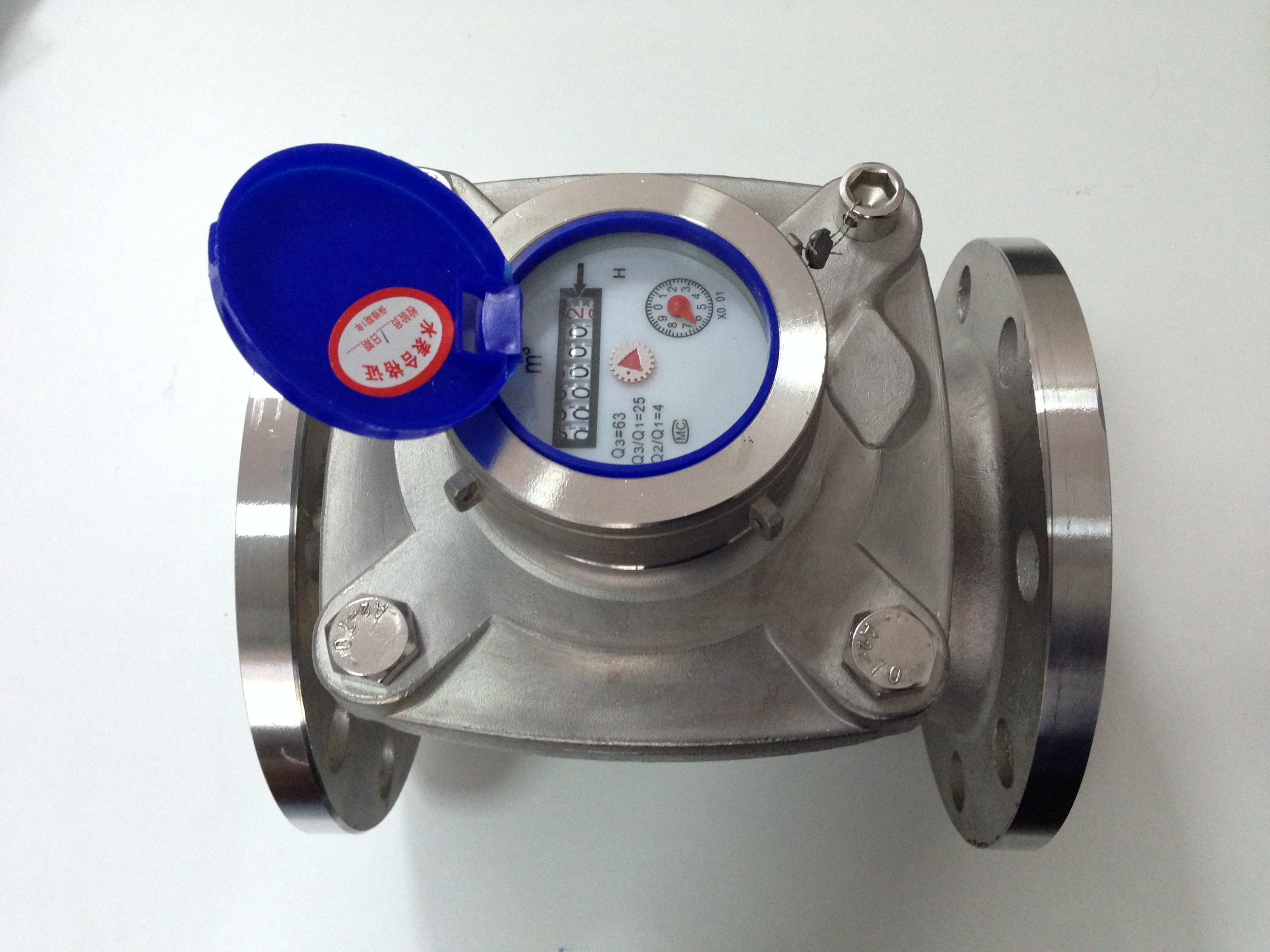 Stainless 304 water meter DN 80