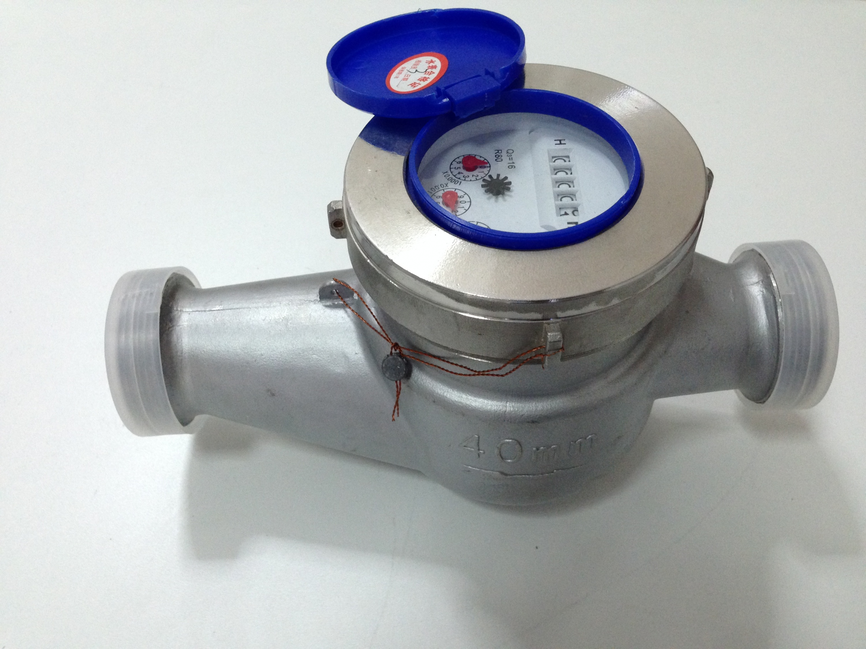 SUS 304 water meter stainless