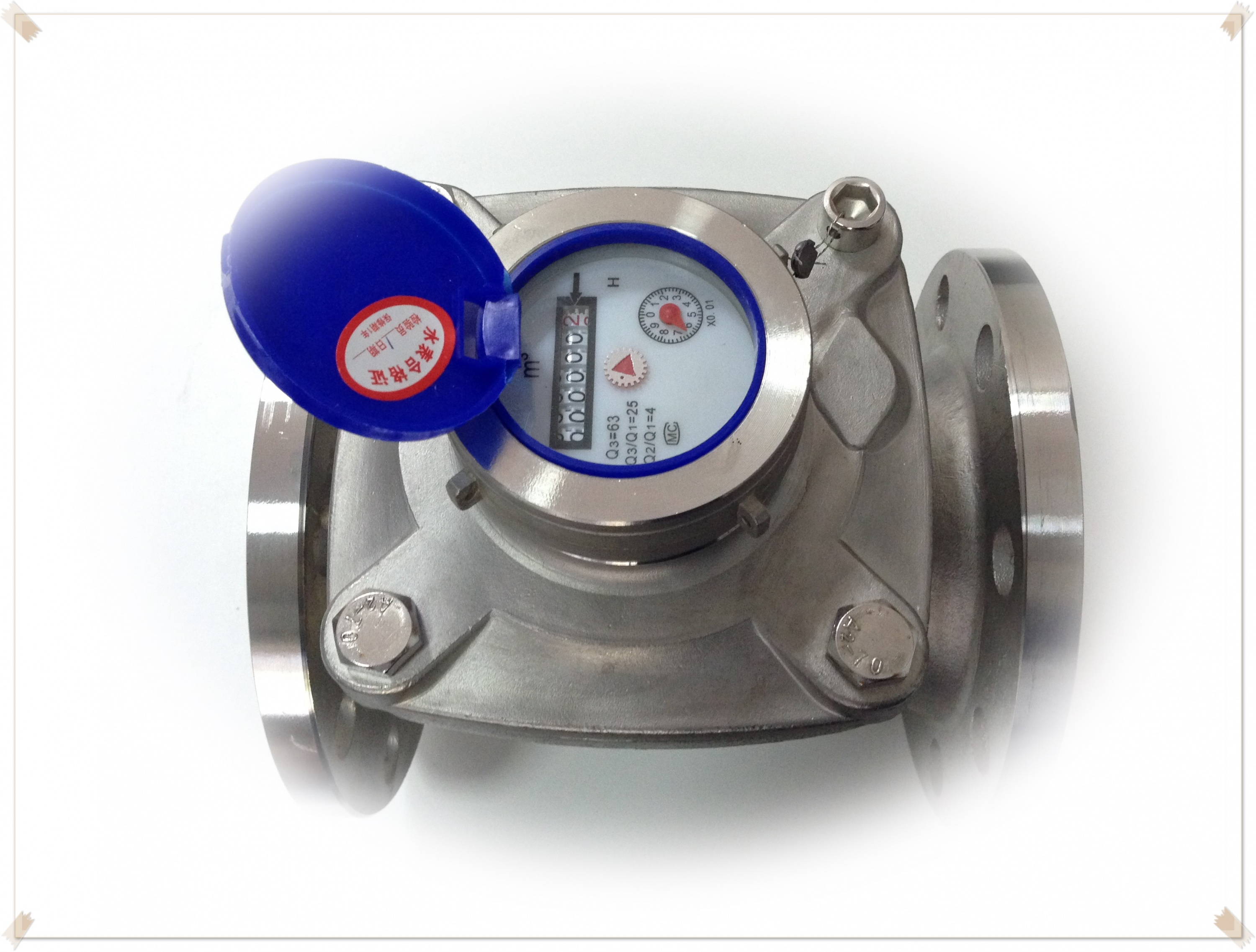 Stainless 304 water meter